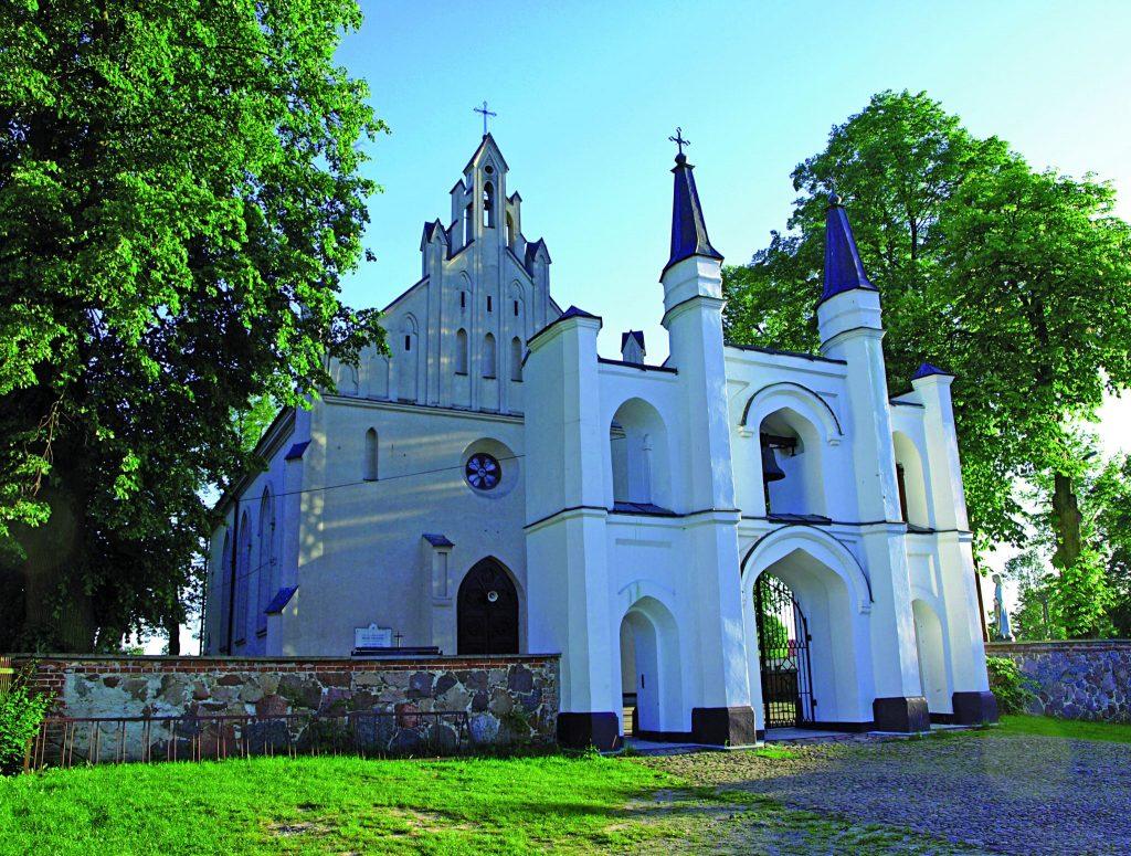 Kościół w Huszlewie